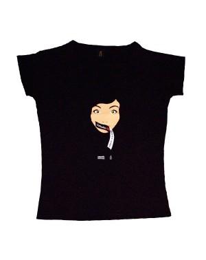 Camiseta especial entallada Calladita NO