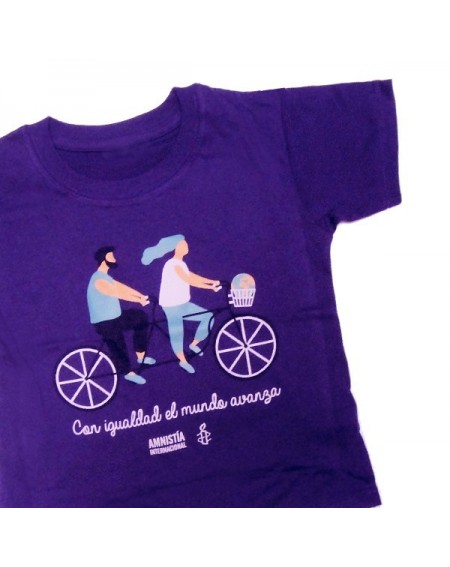 Camiseta infantil 8 de marzo 2017