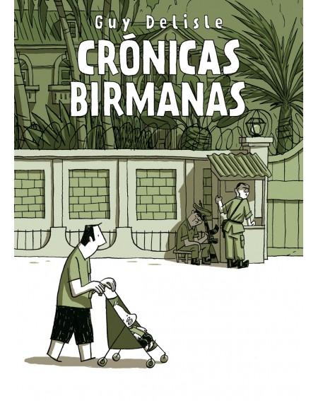Cómic Crónicas Birmanas