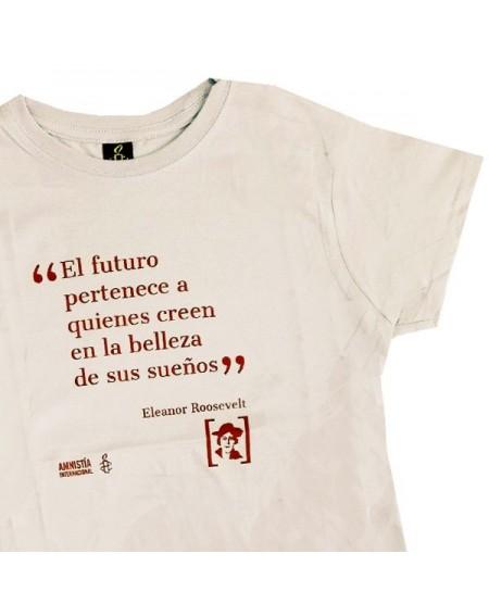 Camiseta entallada Eleanor Roosevelt Amnistía Internacional