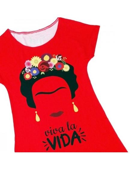 Vestido Frida Viva la Vida