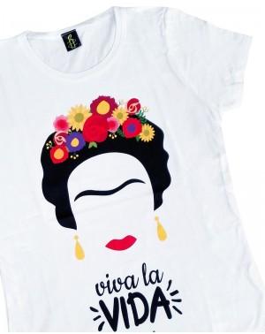 Camiseta mujer Frida Kahlo