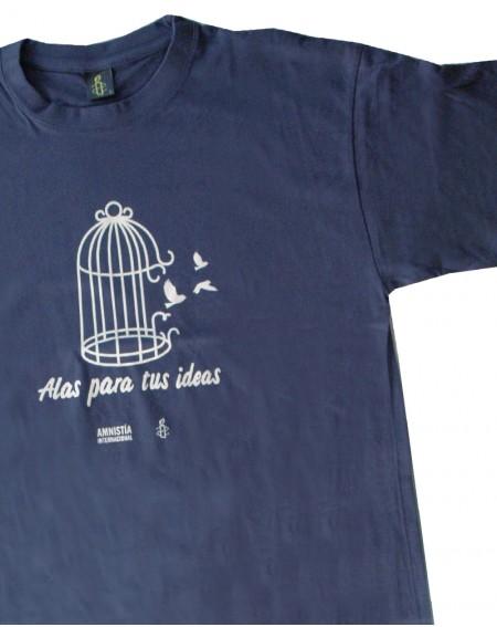 Camiseta unisex Alas para tus ideas