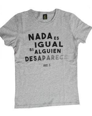 Camiseta con mensaje para mujer Amnistía Internacional desaparecidos