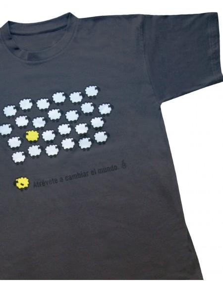 Camiseta original oveja amarilla deAmnistía internacional