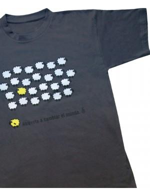 Camiseta original oveja amarilla de Amnistía internacional