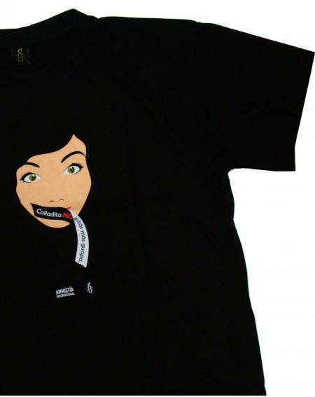Camiseta Calladita no estás más guapa unisex Amnistía Internacional-