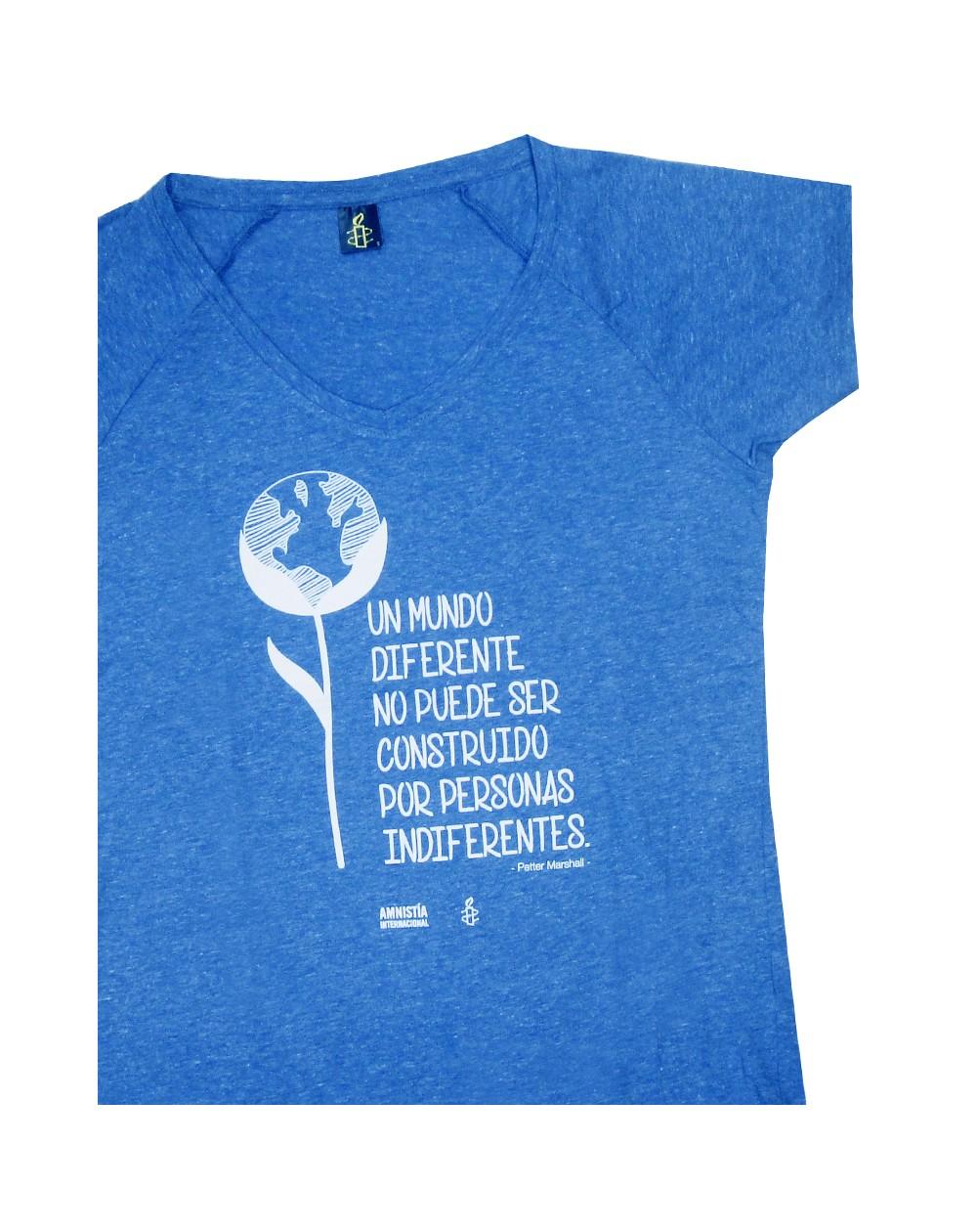 fc57aae7cbc Camisetas con mensaje para mujer Amnistía Internacional