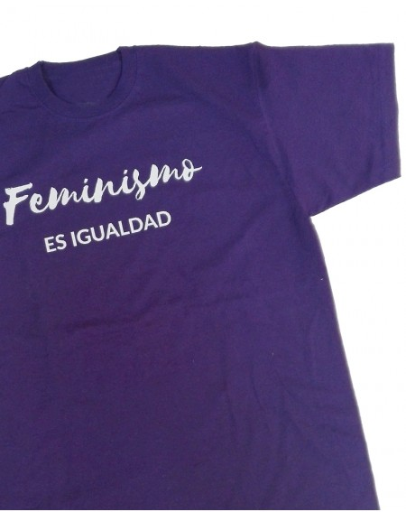 Camiseta feminista para hombre Amnistía Internacional Feminismo es igualdad