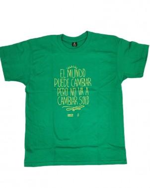 Camiseta con frase para hombre Amnistía Internacional