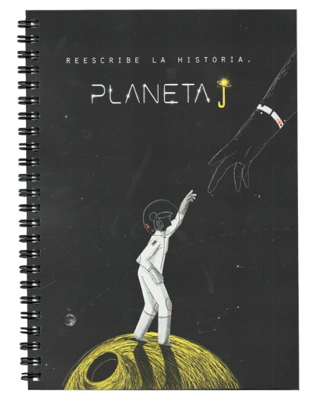 Libreta Planeta J