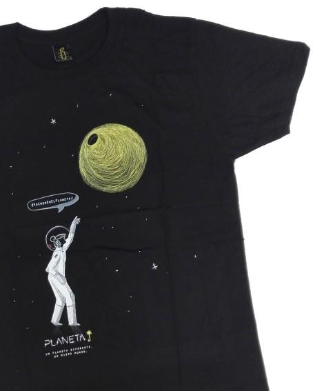 Camiseta aniversario Amnistía Internacional Planeta J unisex