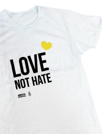 Camiseta orgullo gay LGTB para chico Amnistía Internacional