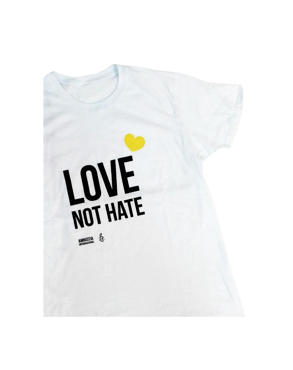 Camiseta orgullo LGTBI para chico Amnistía Internacional
