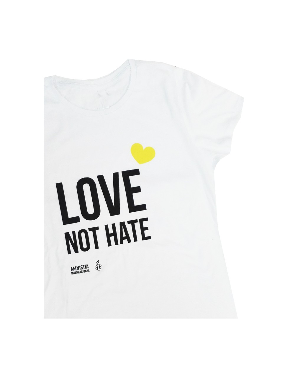 Camiseta para el día del orgullo gay Amnistía Internacional para mujer.