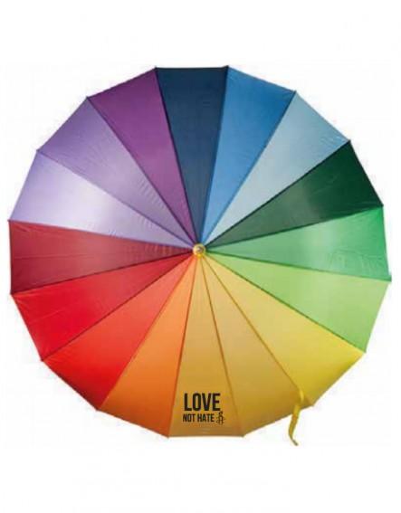 Paraguas Love not hate