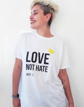 Camiseta orgullo gay unisex Amnistía Internacional