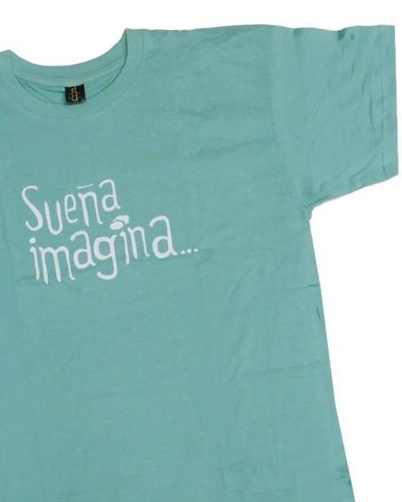 Camiseta con mensaje solidario Sueña Amnistía Internacional