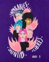 Diseño bonito y original feminista Amnistía Internacional morado