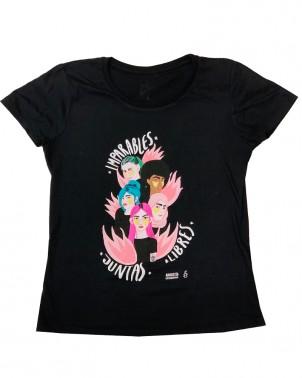 Camiseta con mensaje feminista Amnistía Internacional para el 8 de marzo