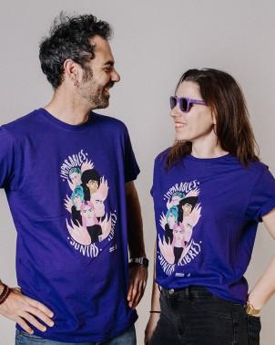 Camiseta unisex feminista 8 de marzo Juntas, libres e imparables Amnistía Internacional