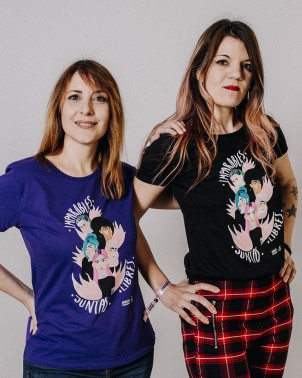 Camiseta feminista bonita para regalar tienda Amnistía Internacional
