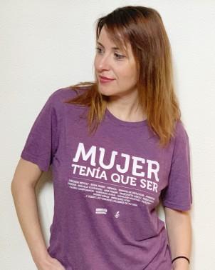 Camiseta unisex Mujer tenía que ser chica Amnistía Internacional