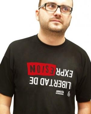 Camiseta unisex Libertad de Expresión Amnistía Internacional