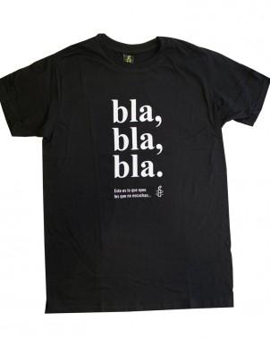 Camiseta solidaria con mensaje unisex Libertad de expresión Amnistía Internacional