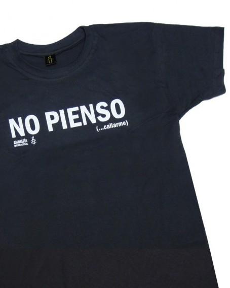 Camiseta No pienso Callarme Amnistía Internacional