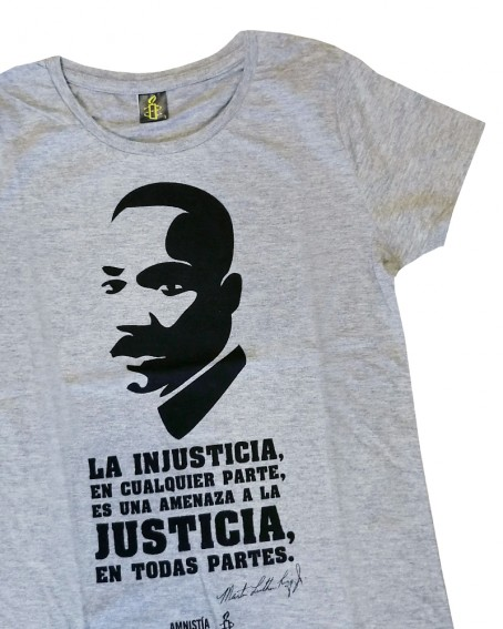 Camiseta Luther King mujer Amnistía Internacional