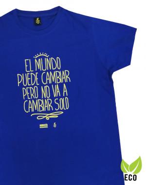Camiseta ecológica con mensaje para chico Amnistía Internacional