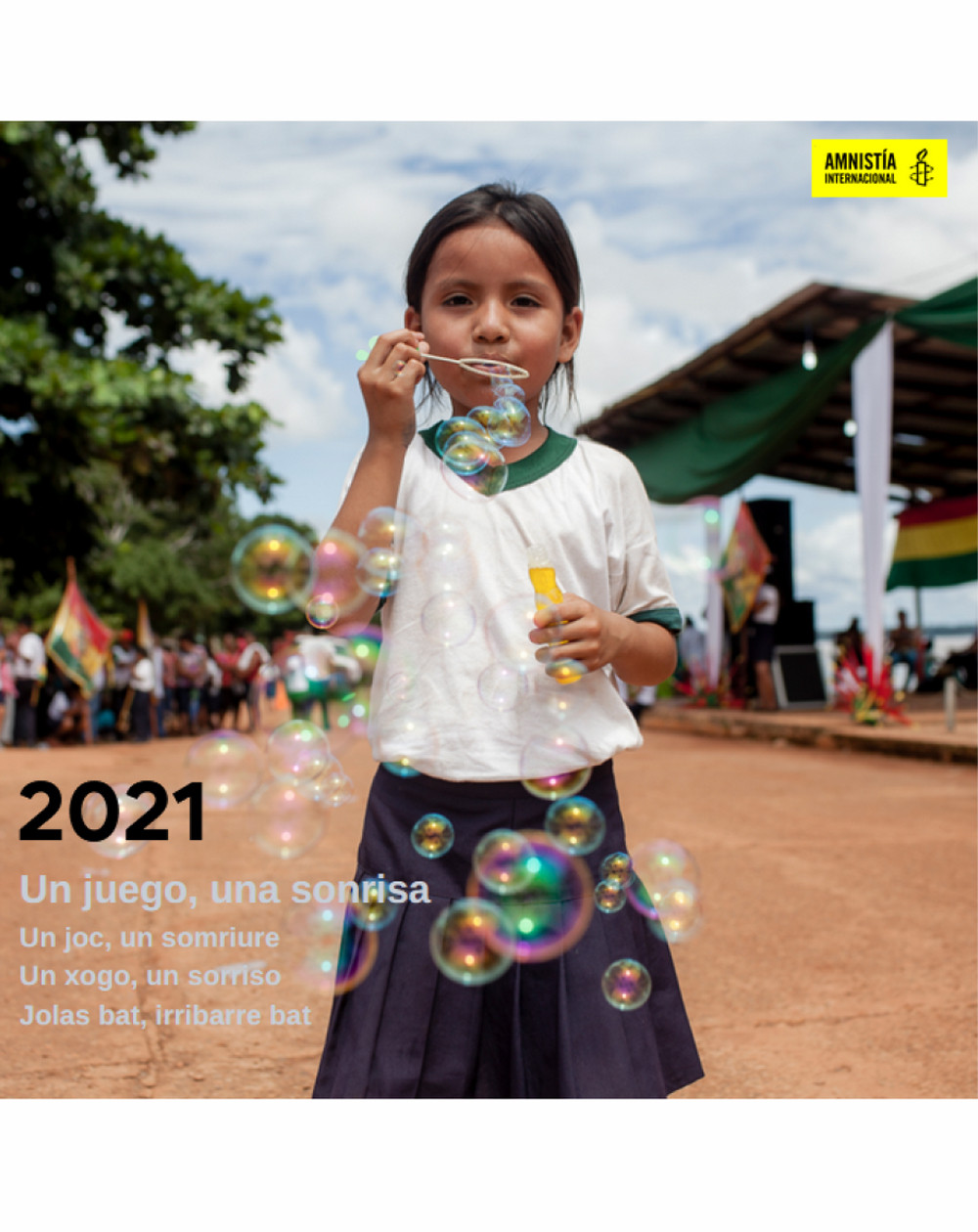 Calendario solidario 2021 Amnistía Internacional