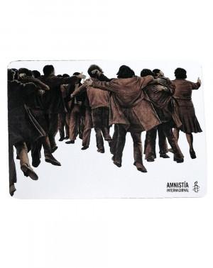 Imán El Abrazo Juan Genovés Amnistía Internacional