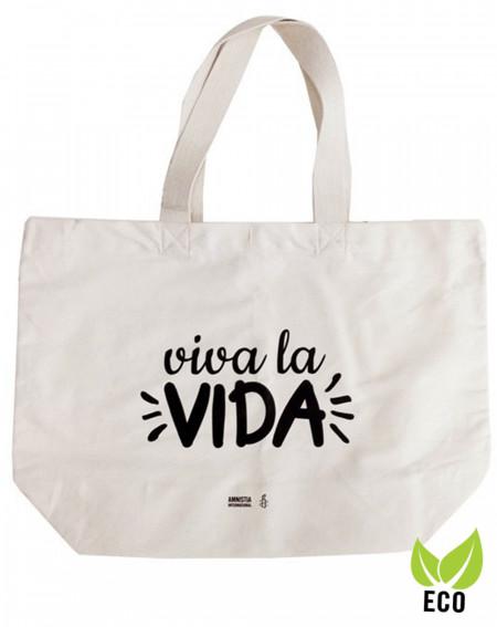 Bolsa orgánica Frida viva la Vida