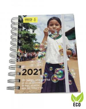 Agenda solidaria 2021 Amnistía Internacional